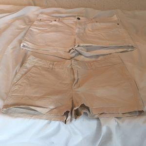 Lot of 2 pairs of Gap shorts size 14